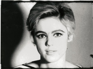 """Socialite, model, actress and """"Warhol Superstar"""" Edie Sedgwick"""