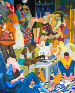 nicole eisenman at anton kern gallery, Another Green World