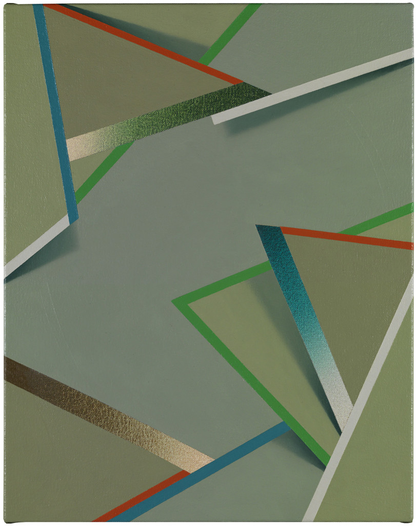 Dele by Tomma Abts (2014). Collection Museum of Contemporary Art Chicago, gift of Marshall Field's by exchange. Photo: Marcus Leith.