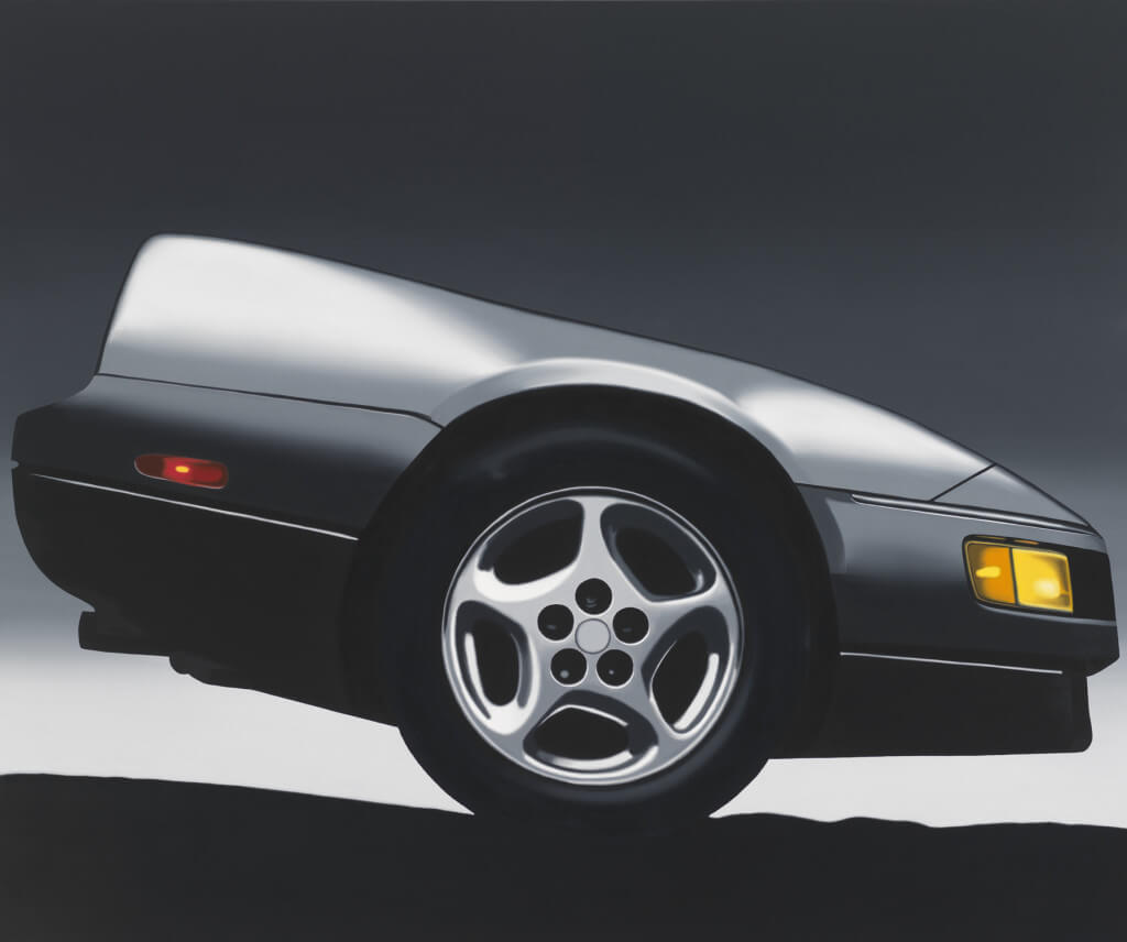 NY Z (19890 by Peter Cain. Oil on canvas 58 1/4 × 70 1/8 inches. Purchase with funds from the Painting and Sculpture Committee.
