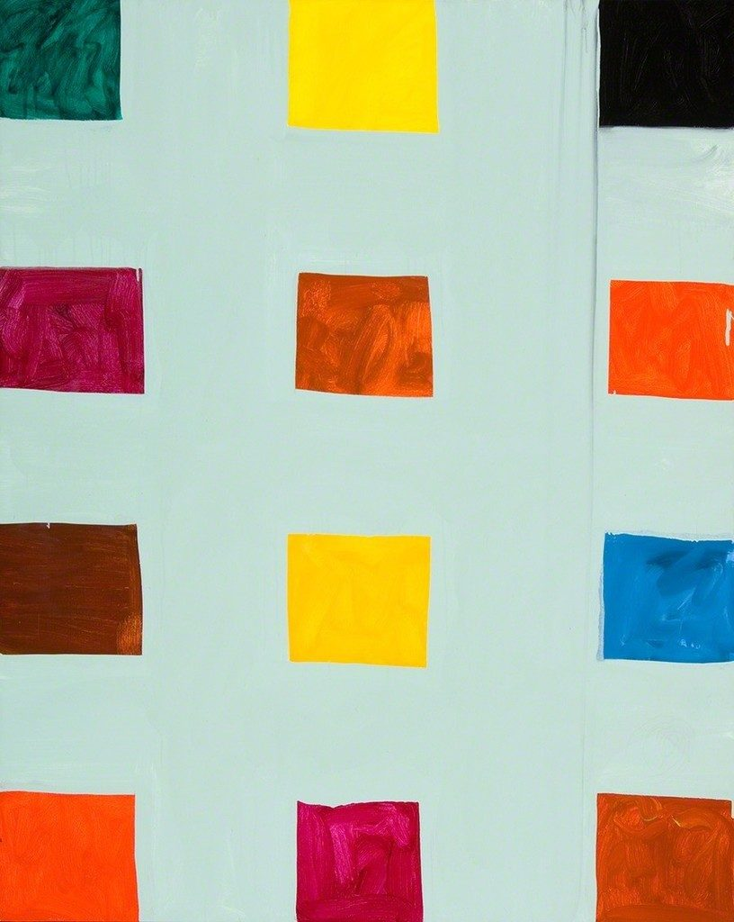 Narrow lane #3 by Mary Heilmann art