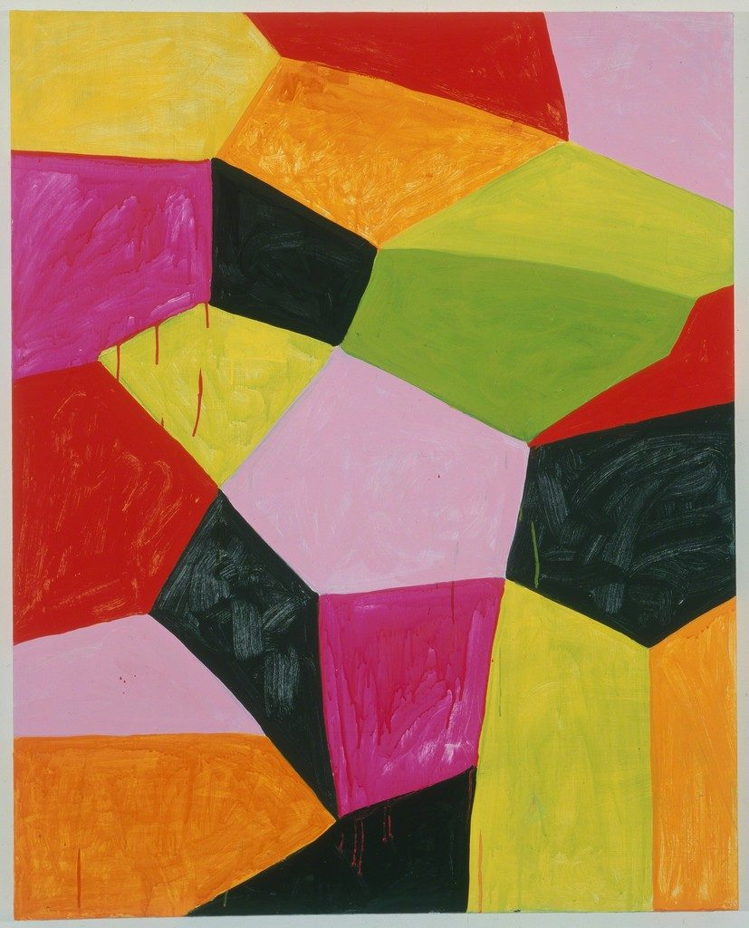 Primalon Ballroom by Mary Heilmann painting