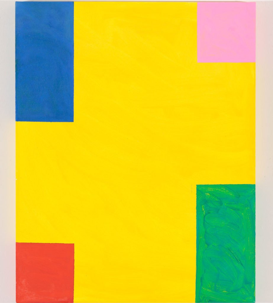 Taste of Honey by Mary Heilmann painting