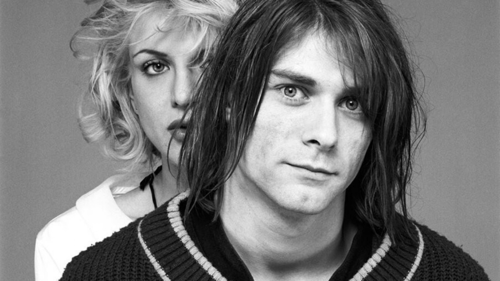 Kurt Cobain and Courtney Love