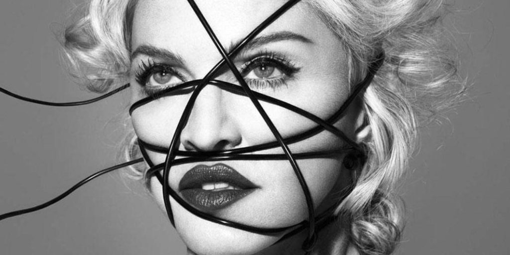 Rebel Heart Album Cover Image of Madonna