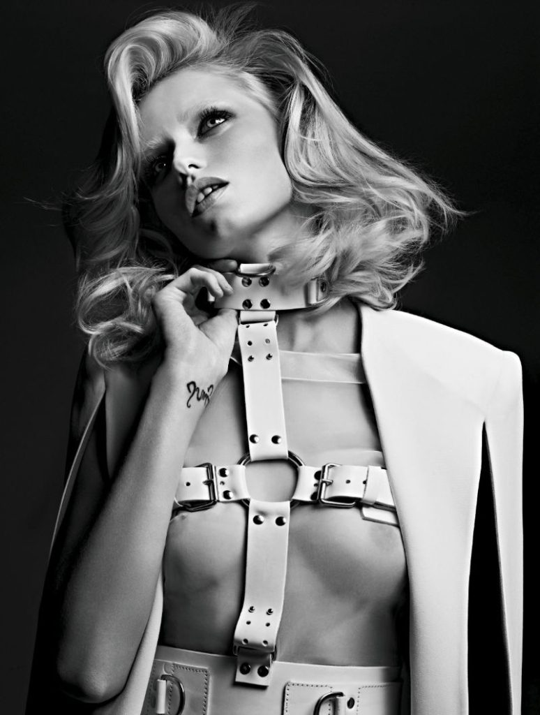 Heidi Slimane's Dominatrix Photograph shot for Russian Vogue