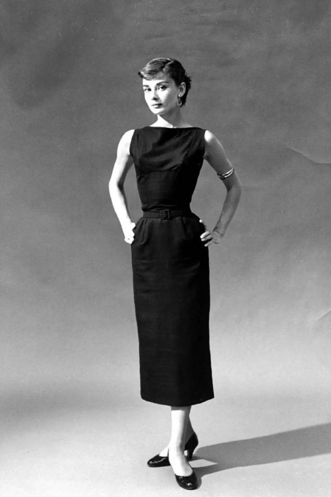 Actress Audrey Hepburn made it cool to wear a little black dress