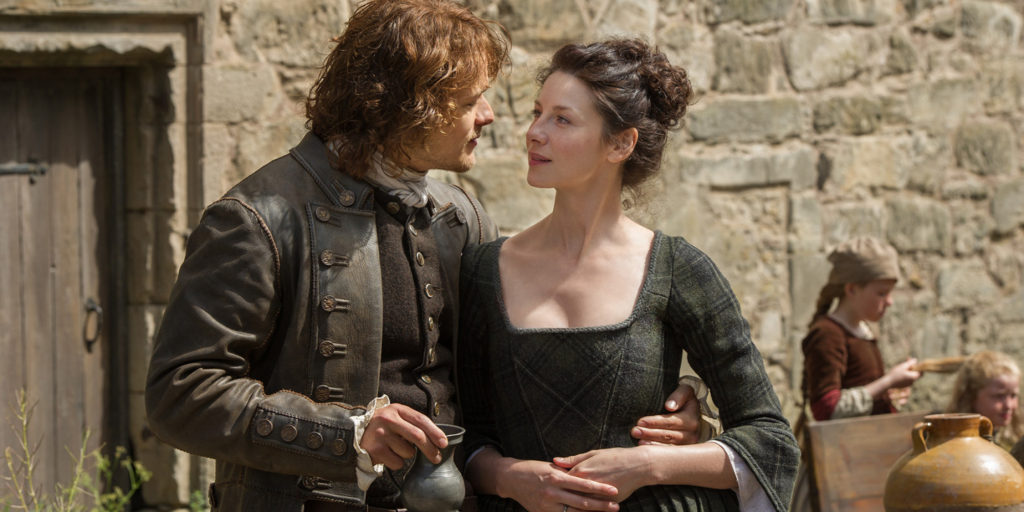 Sexiest Shows of 2017 Outlander