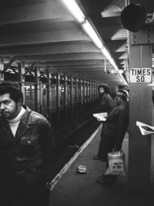 Subway Times Square by Leland Bobbe