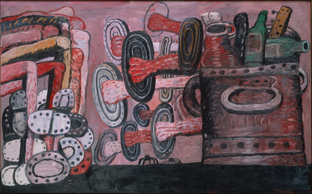 Painting by Philip Guston