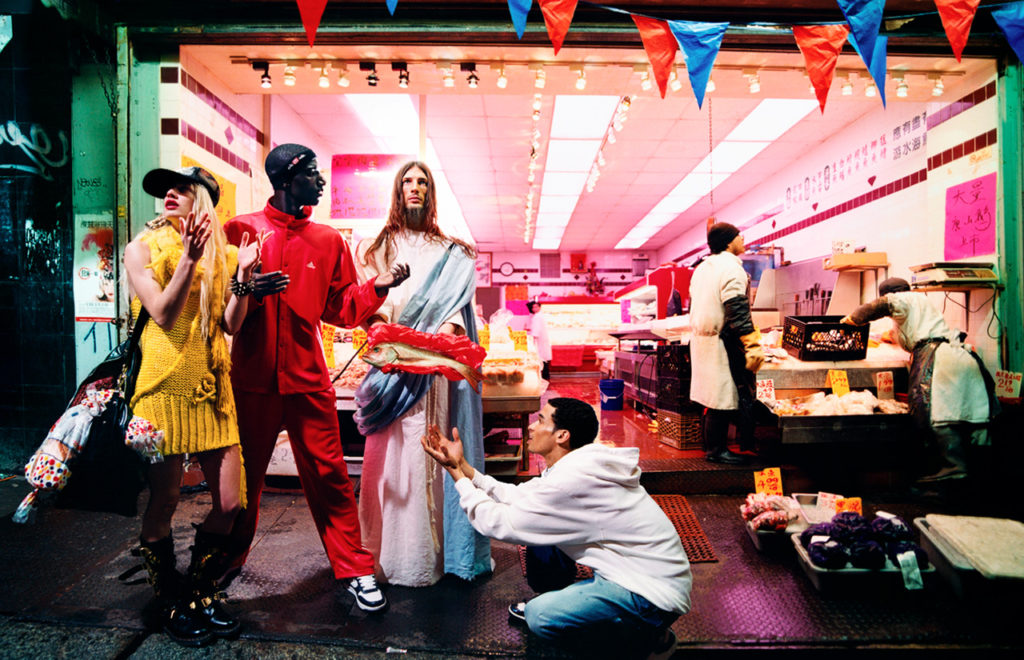 David LaChapelle, Loaves And Fishes.