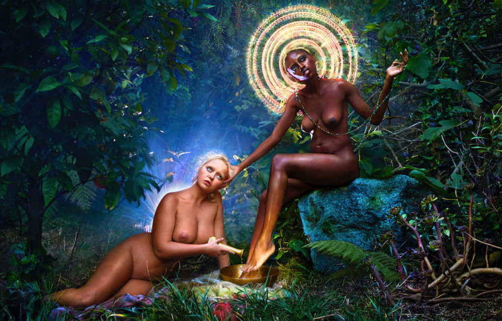 David LaChapelle, We Forgave Deeply Then Flooded Our Hearts 2017