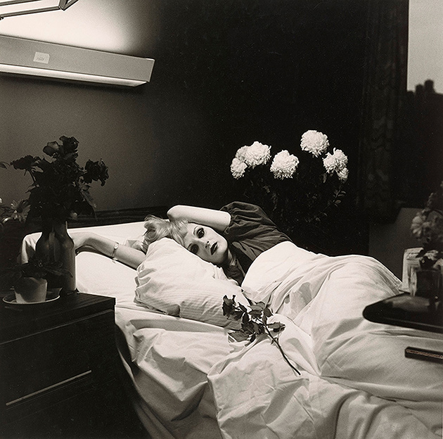 Peter Hujar. Self Portrait