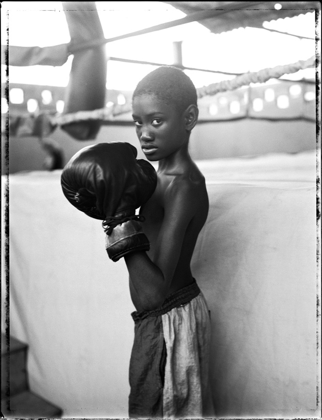 Patrick Demarchelier Boxing Gym, Cuba, 1998