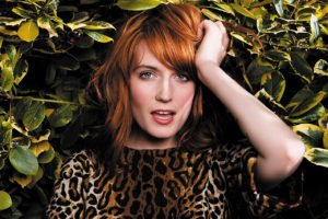 Florence and the machine leopard print in jungle