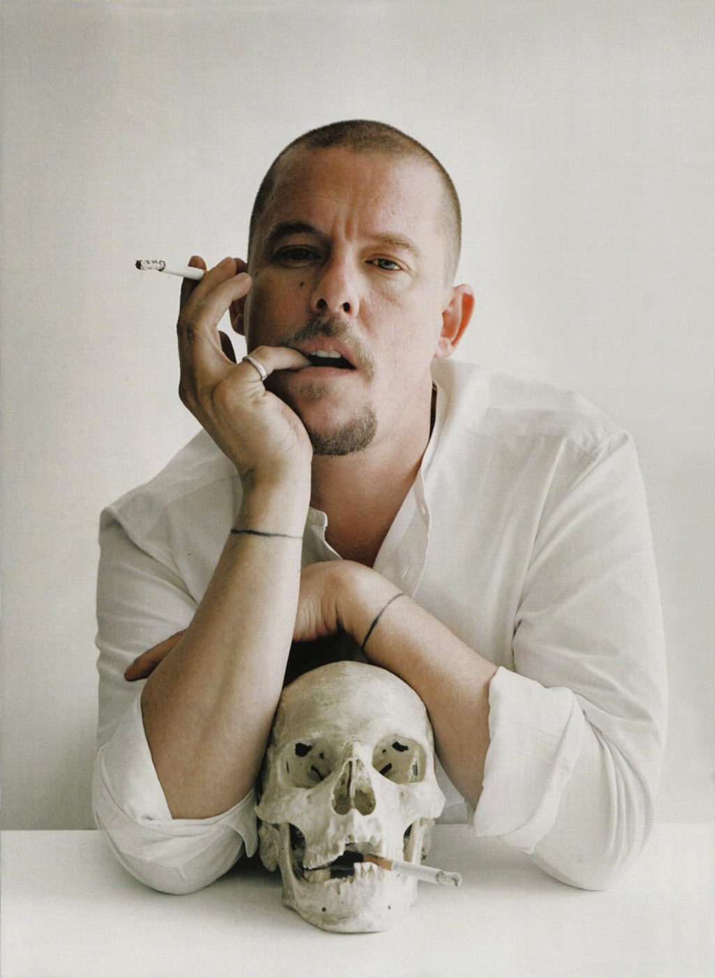 mcqueen and skull