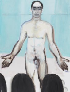 Painting by Marlene Dumas