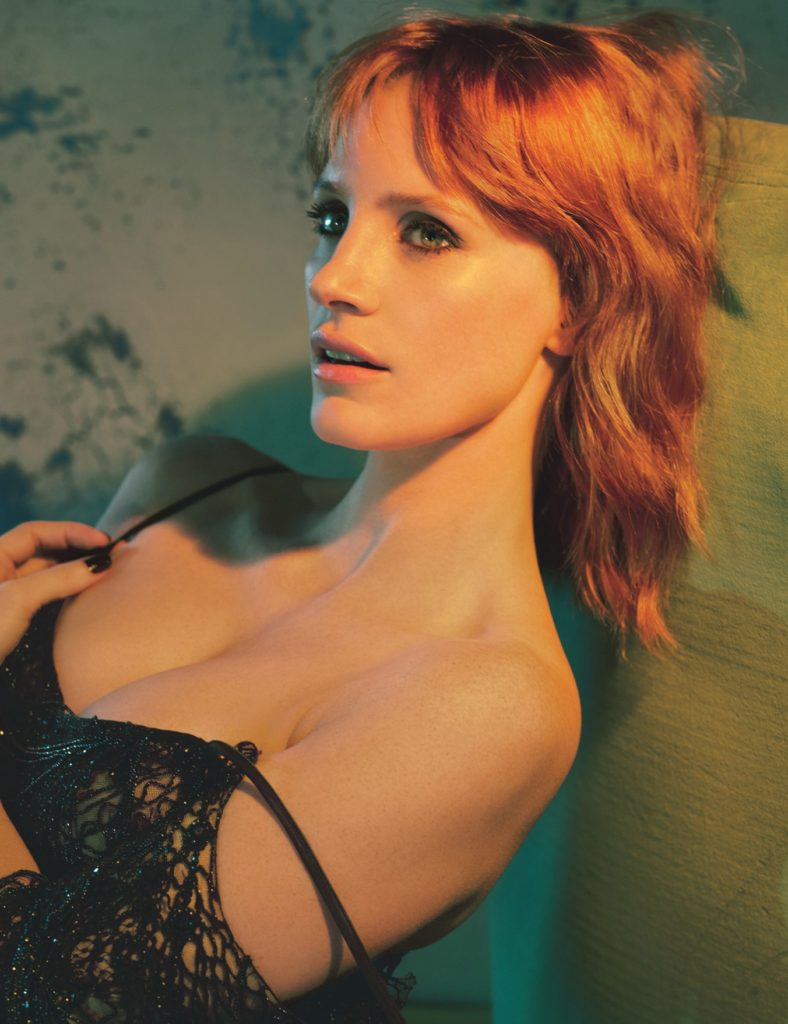 Jessica Chastain for W Magazine