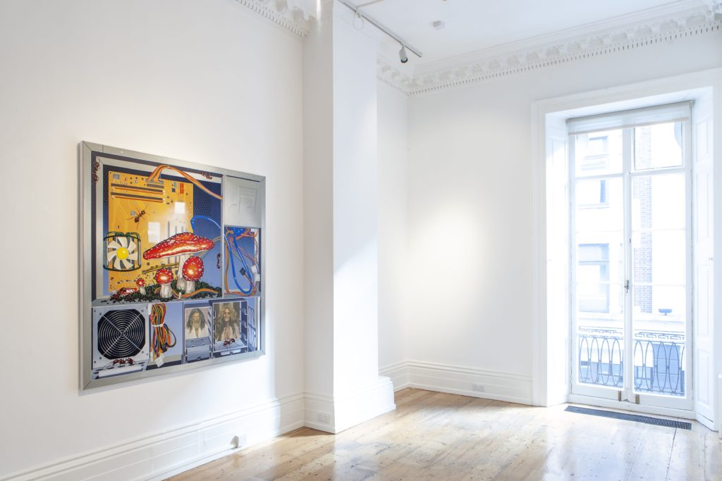 Installation view, Henry Gunderson | Formula One, Carl Kostyál, London