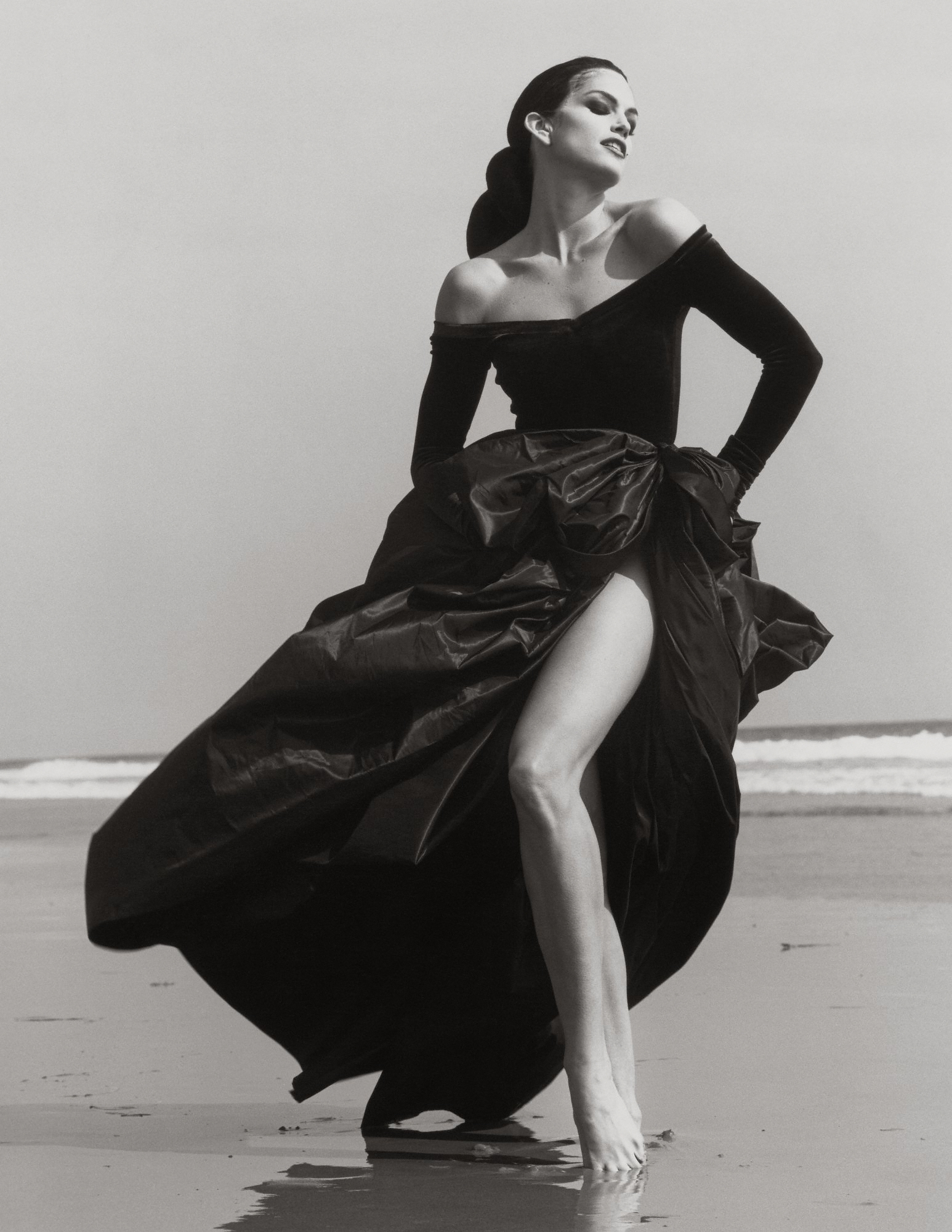 Cindy Crawford, by Herb Ritts