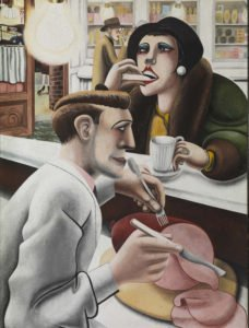 Painting by Edward Burra