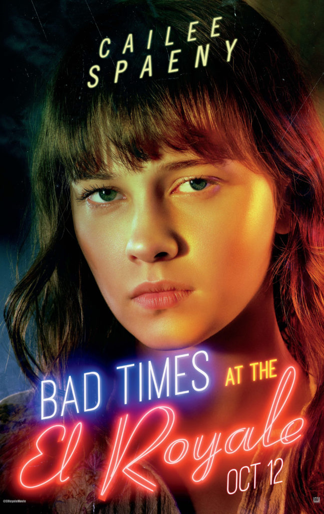 Cailee Spaeny movie poster Bad Times at the El Royale