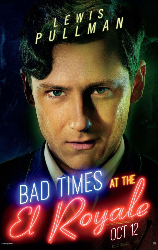 Lewis Pullman  movie poster Bad Times at the El Royale
