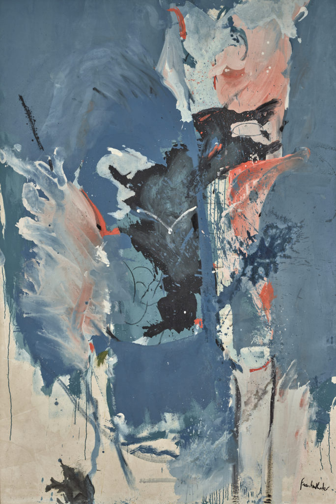 Painting by Helen Frankenthaler