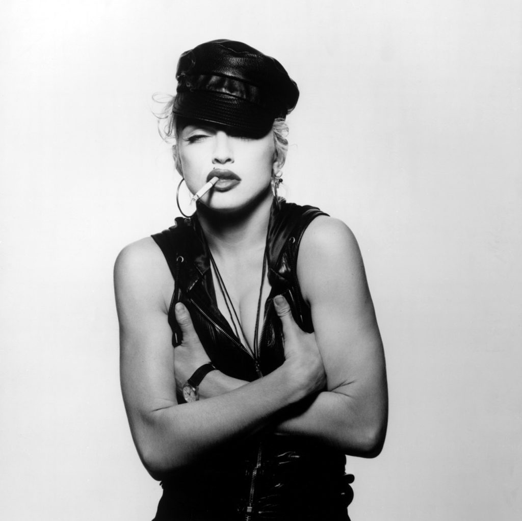 photograph of madonna by patrick demarchelier 1991