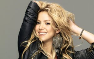 shakira in leather