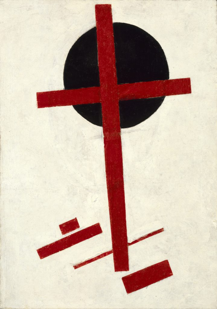 Mystic Suprematism Painting by Kazimir Malevich