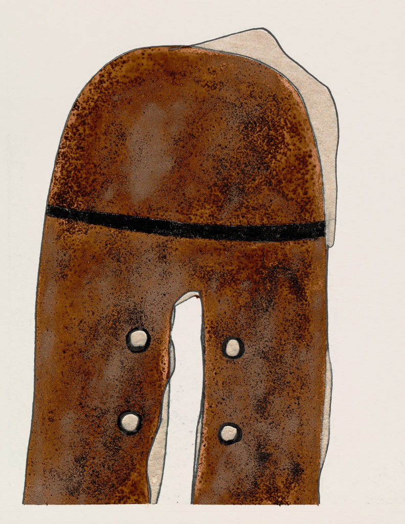 A Worn Shoe by Irving Penn