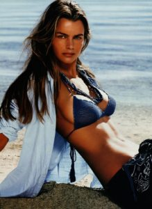 Ralph Lauren Ad Campaign Featuring a sexy Model on Beach