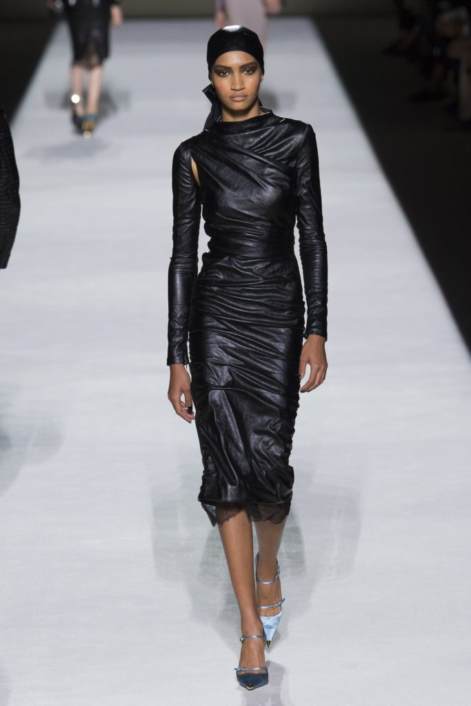 Tom_Ford Runway Spring Summer 2019 Runway Model in Black Leather.jpg_