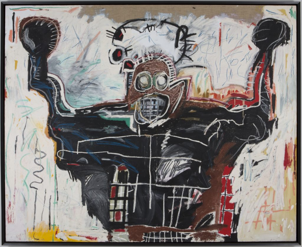 Painting by Jean-Michel Basquiat