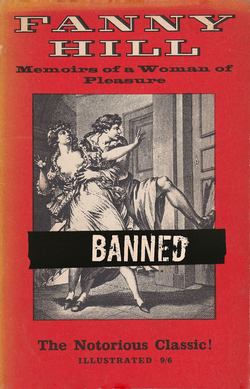 Fanny-Hill-Memoirs-of-a-woman-of-pleasure-London-Luxor-Press-1964-banned