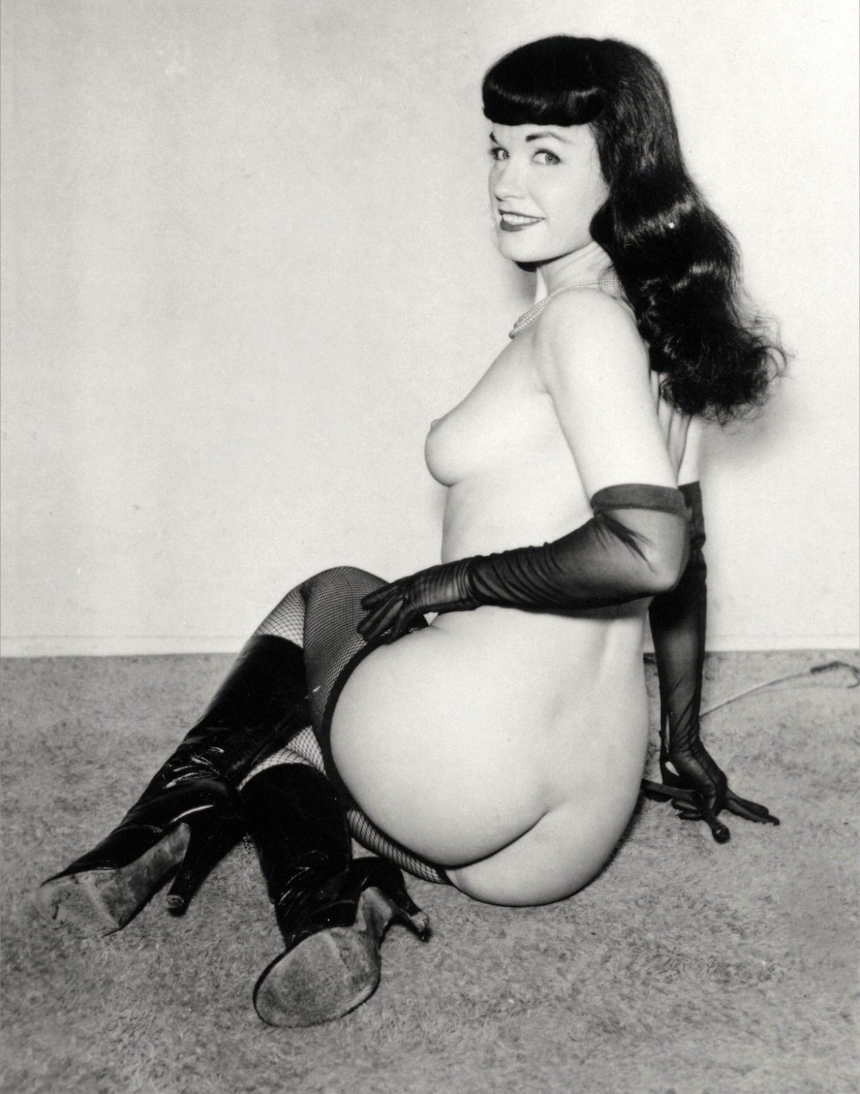 Vintage photo of Bettie Page
