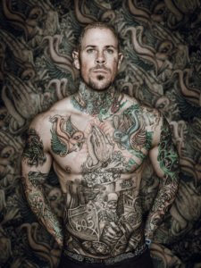 Cade Martin tattoo man