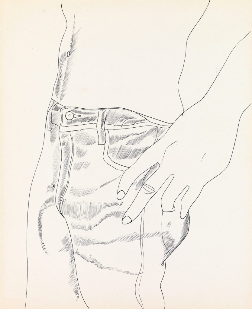 Drawing by Andy Warhol