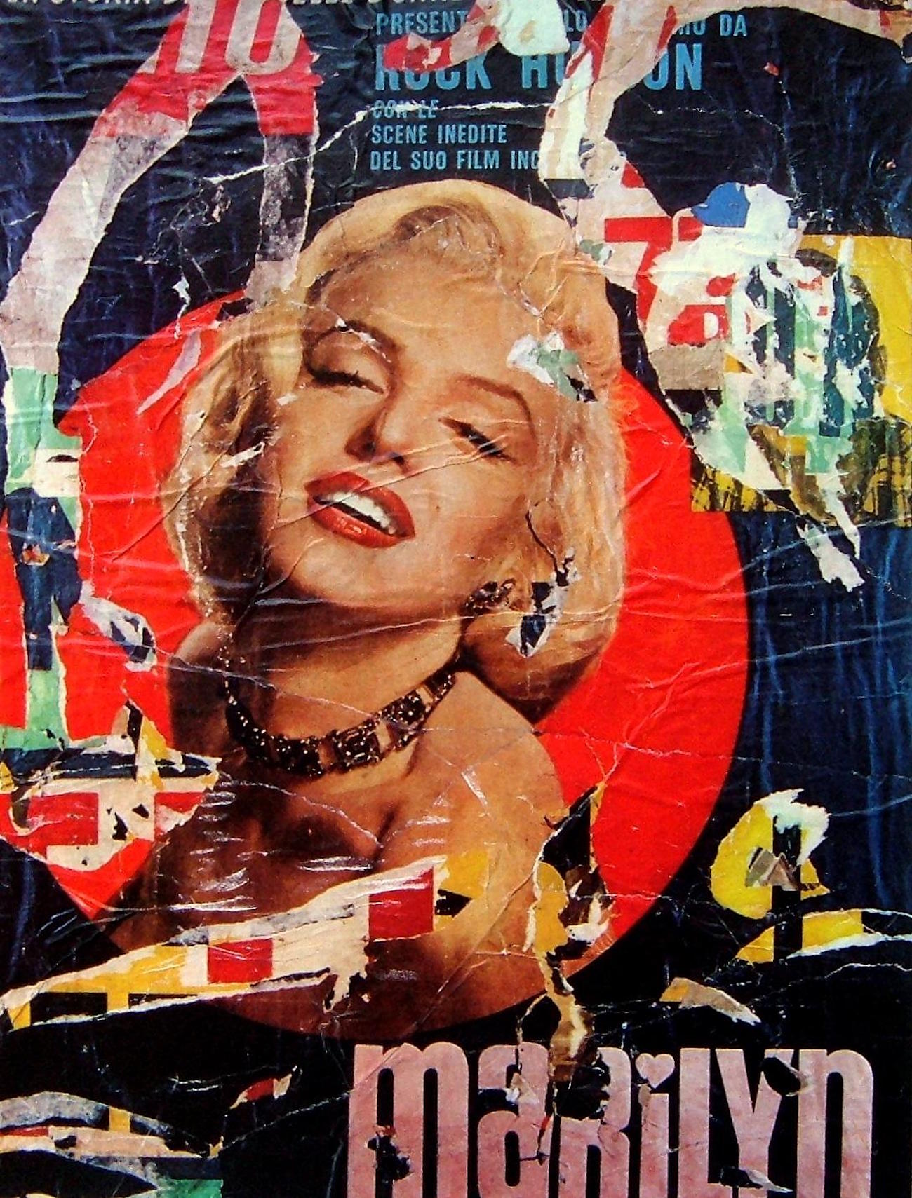 Collage by Mimmo Rotella
