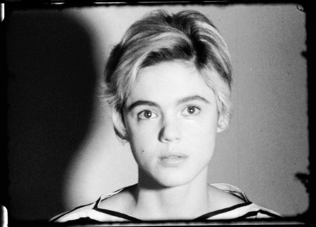"Film still of ""ST309 Edie Sedgwick,"" by Andy Warhol"