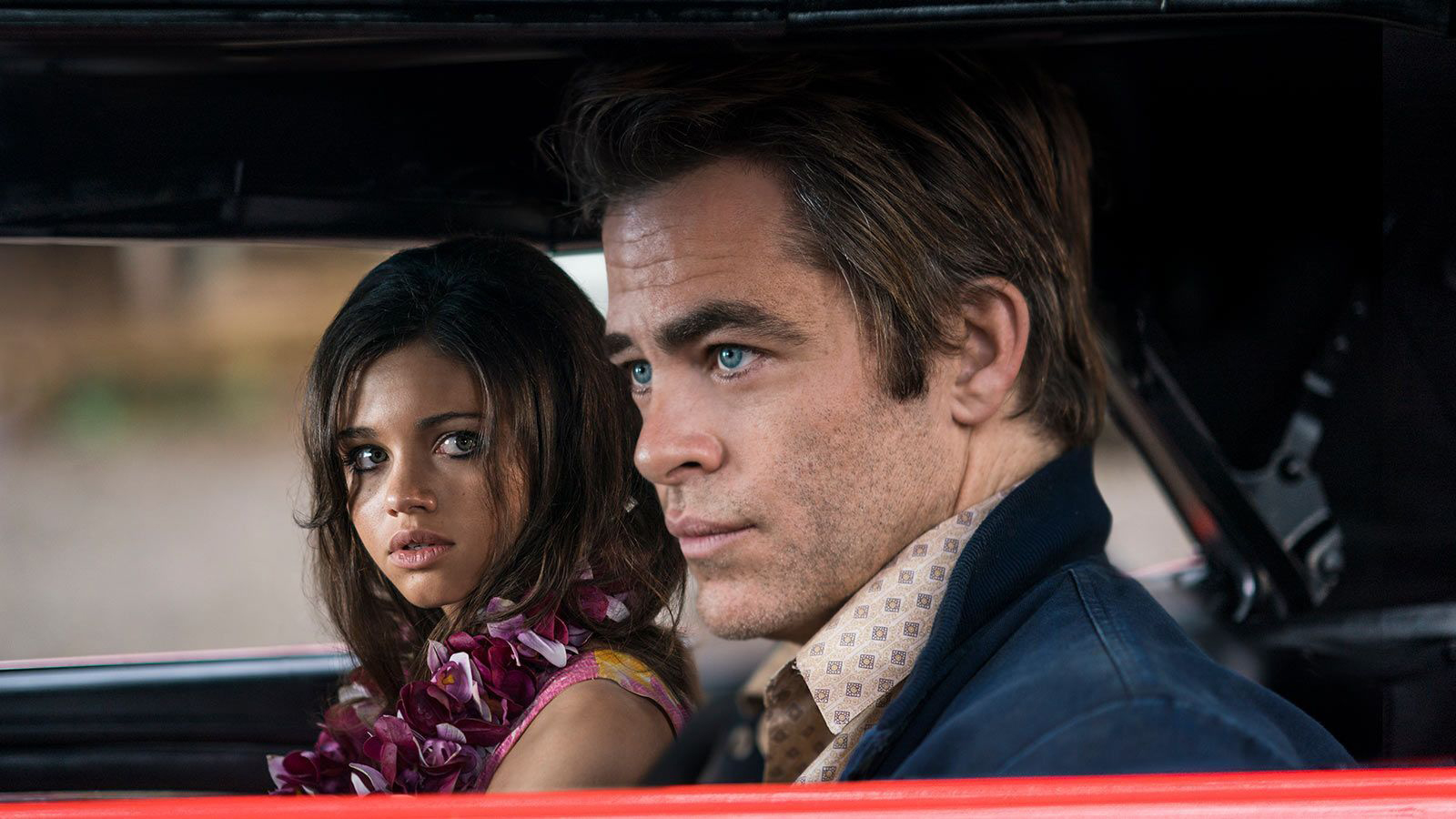 Chris Pine in I Am The Night on TNT