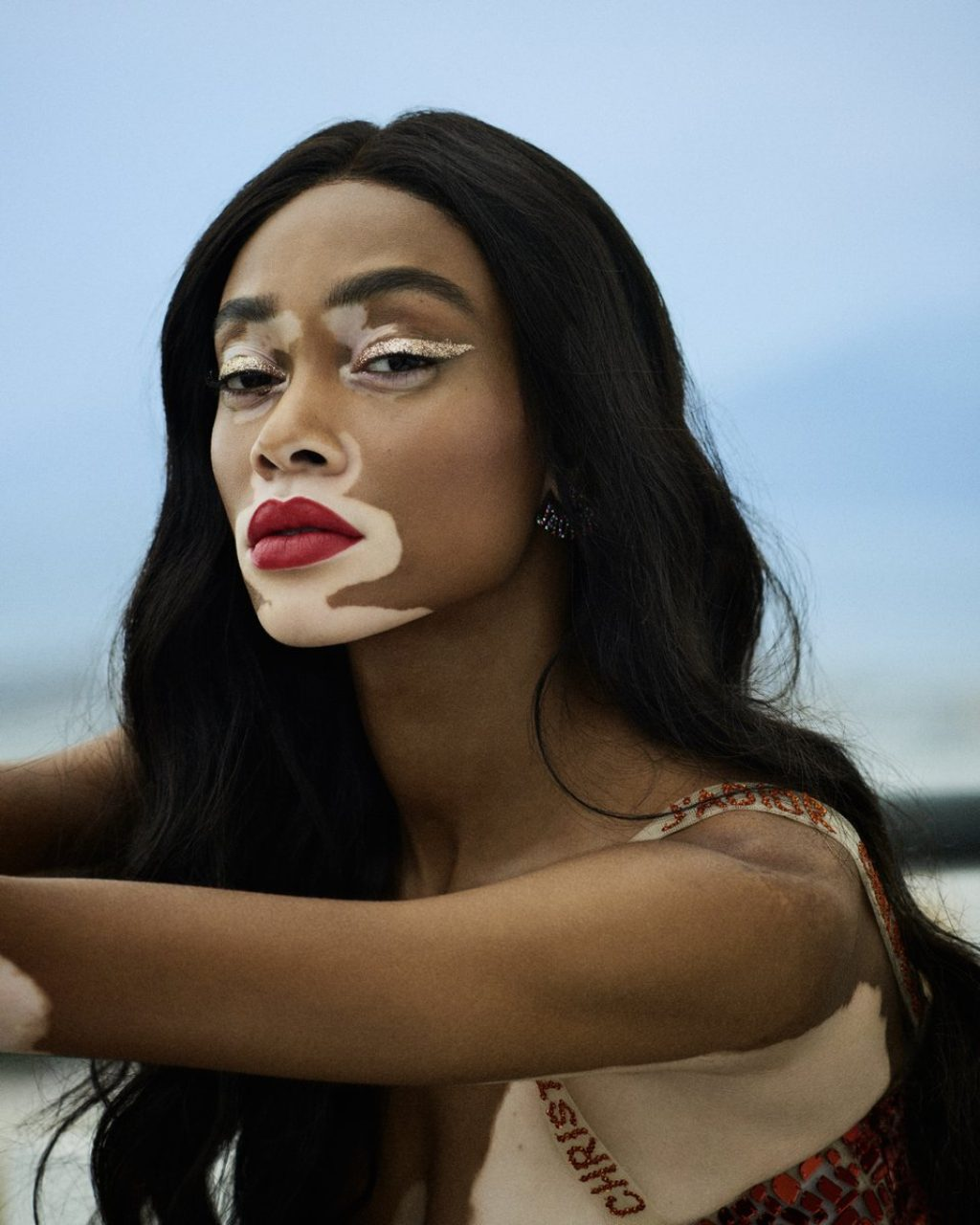Winnie Harlow for Dior Beauty