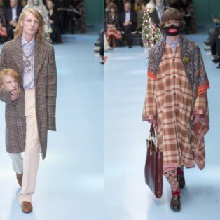 Most Provocative Runway Show-Gucci 2019: photo of our models with one of the model holding a head