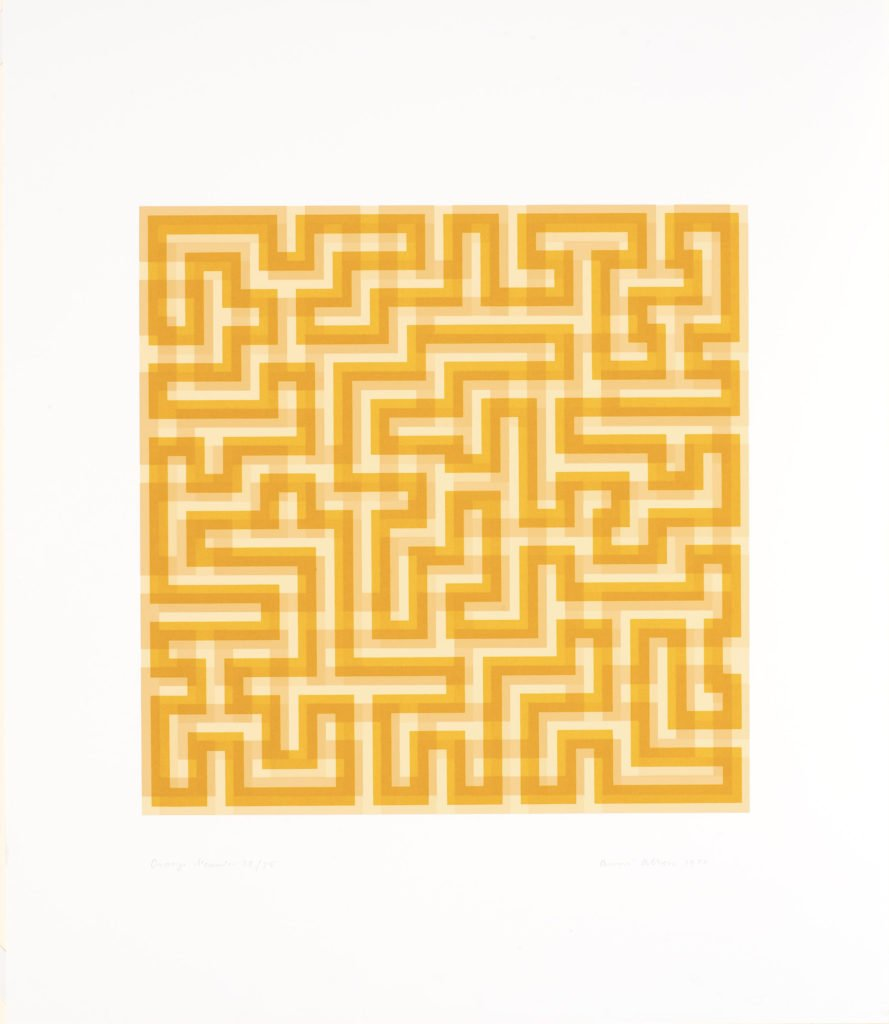 Print by Anni Albers