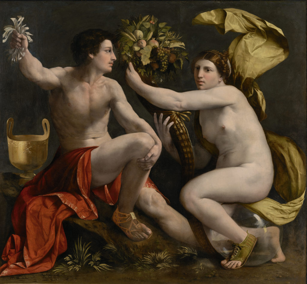 Painting by Dosso Dossi